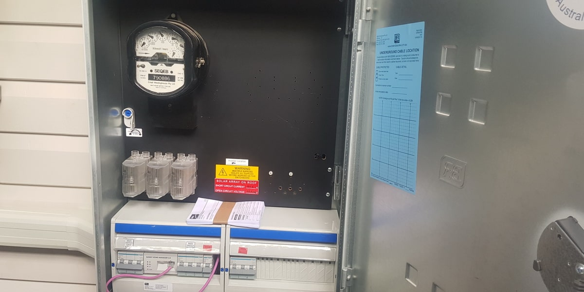 Solar Power Electrical Panel